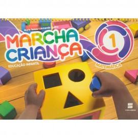 Marcha Criança Matemática Vol.1 - Coleção Marcha Criança