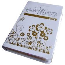 Biblia da Mulher RA - Media - Capa Luxo - Branca