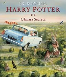 Harry Potter 2 - Câmara Secreta - Ilustrado