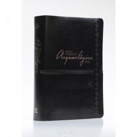 Biblia de Estudo Arqueologica NVI Capa Luxo Preta