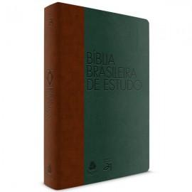BÍblia Brasileira de Estudo - Capa Verde /Marrom
