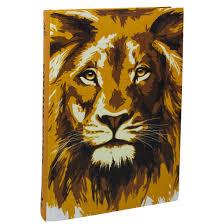 Biblia NAA - Capa Dura - Leão Dourado