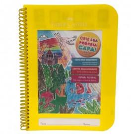 Caderno Criativo Faber Castell 96 fls Amarelo