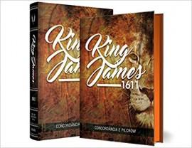 Bíblia King James Fiel 1611 - Leão - Concordância e Pilcrow