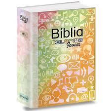 Bíblia Colorida Jovem - RA - SBU - Redes Sociais