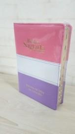 Biblia ARC - Letra Gigante - Indice - Luxo - PJV