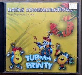CD Turma do Printy - Vol 3 - Datas Comemorativas PB Incluso
