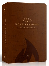 Bíblia de Estudo Nova Reforma Capa Luxo Marrom