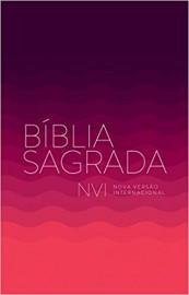 Biblia NVI - Brochura Econômica Rosa