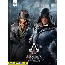 Caderno Brochura CD 96 Folhas Assassin's Creed Tilibra