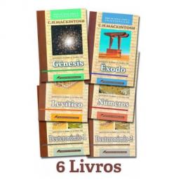 Kit Estudos Sobre o Pentateuco - 6 Livros