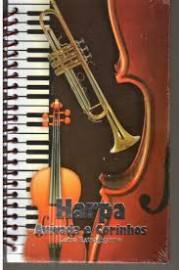 Harpa Crista Letra Extra Gigante Popular Espiral