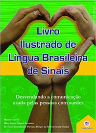Livro Ilustrado de Língua Brasileira de Sinais (Verde)