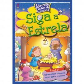 Siga a Estrela - Livro com Poster de Adesivos