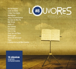 CD Louvores Inesquecíveis - Coletânea Volume 8