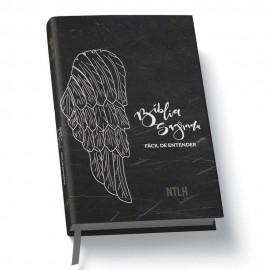 Biblia NTLH - Facil de Entender - Preta - Capa Dura - Asas