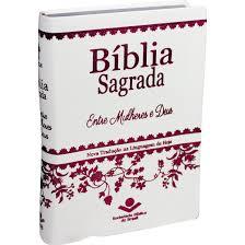 Bíblia Entre Mulheres e Deus - NTLH - Media - Capa Branca