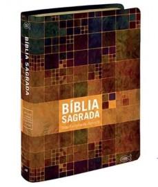 Bíblia RC - Media Grande - Estampada - Geográfica