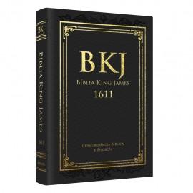 Biblia King James Fiel 1611 - Preto - Concordancia e Pilcrow