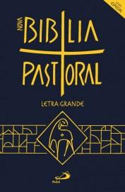 Nova Biblia Pastoral Letra Grande Edicao Especial Cristal