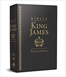 Bíblia King James Atualizada Capa Luxo Preta Abba Editora