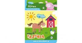 Colorindo no Banho - Animais da Fazenda - Livro de Banho