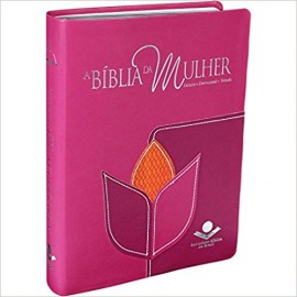 Biblia da Mulher RC - Grande - Capa Luxo - Flor