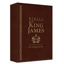 Biblia King James Atualizada Capa Luxo Marrom Abba Editora