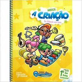Livro Musical A Criação - Turminha Querubim