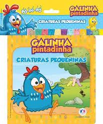 Galinha Pintadinha - Criaturas Pequenas - Livro de Banho