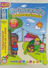 Brincando e Aprendendo - N 50 - Vamos Colorir - Coquetel