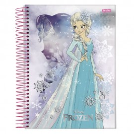 Caderno CD 01x1 96 Fls Frozen 17 Jandaia