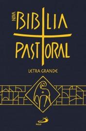 Nova Biblia Pastoral Letra Grande Media Capa Cristal