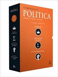 O Essencial da Política. O Príncipe, Apologia de Sócrates, do Contrato Social - Caixa