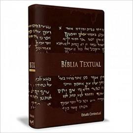 Bíblia de Estudo Textual Marrom