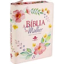 Biblia da Mulher RC - Media - Ziper - Capa Luxo