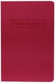 Bíblia RC - Brochura - Rosa - Geográfica