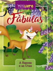 Mini Livro - Fabulas - A Raposa e as Uvas