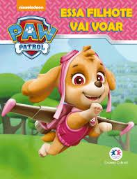 Mini Livro - Patrulha Canina - Essa Filhote Vai Voar
