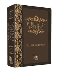 Biblia de Estudo Matthew Henry - RC - Capa Luxo - Preta