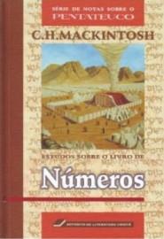 Números -Estudos Sobre o Livro de Números - Capa Dura - Luxo