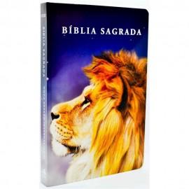 Bíblia NVI - Capa Dura - Leão Color