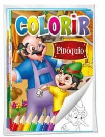 Colorir - Clássicos encantados: Pinóquio
