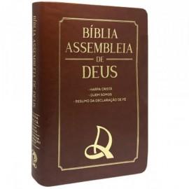 Bíblia Assembleia de Deus - Marrom
