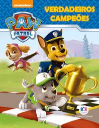 Mini Livro - Patrulha Canina - Verdadeiros Campeões