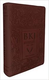 Bíblia King James Fiel 1611 - Ultra Gigante - Marrom