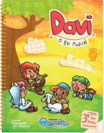 Livro Musical Davi - O Rei Musical - Turminha Querubim