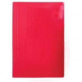 Pasta Grampo Trilho Papel Cartão Frama Vermelha