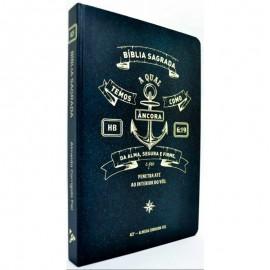 Bíblia ACF Slim Capa Dura - Âncora Hebreus