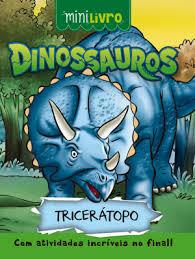 Cópia de Mini Livro - Dinossauros - Triceratopo